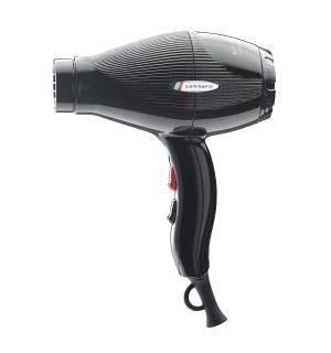 Føner Gamma E-T.C. Light 2100W Sort